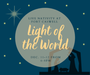 Light of the World Life Nativity @ Fort Caswell